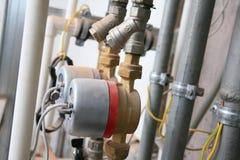 system dystrybucji woda Fotografia Royalty Free