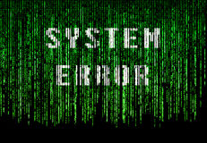 System error Royalty Free Stock Image