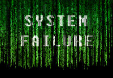 System error Royalty Free Stock Images