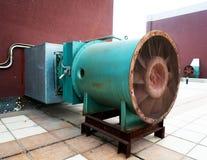System för avgasrörfan och avgasrör Royaltyfri Bild