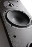 system för fi för akustisk close högt upp Arkivfoto