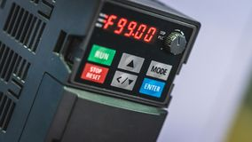 System för kontroll för robotövervakninginstrumentbräda royaltyfri bild