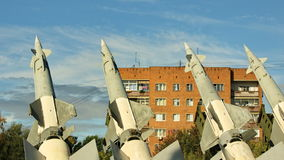 System för yt-luft- missil lager videofilmer