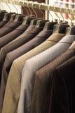System für Kleidung der Männer Stockfoto