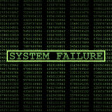 System failure Royalty Free Stock Images