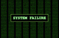 System Failure Royalty Free Stock Photo