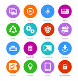 System flat icons || Set II Royalty Free Stock Photography