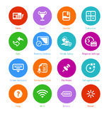 System flat icons || Set III Royalty Free Stock Photography