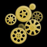 System of gears. Stock Image