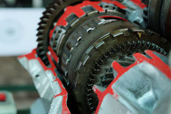The system of gears Stock Image