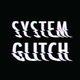 System glitch text Royalty Free Stock Image
