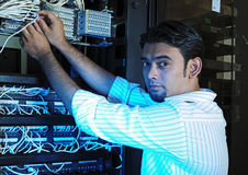 IT system guy Stock Photography