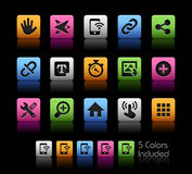 System Icons Interface  Stock Image
