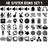 System Icons Set 1 - msidiqf royalty free illustration