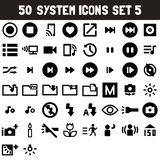 System Icons Set 5 - msidiqf royalty free illustration