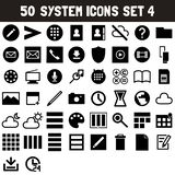 System Icons Set 4 - msidiqf stock illustration