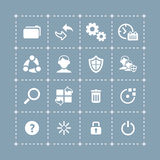 System icons | TECH series Royalty Free Stock Images