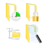 System icons. Vector illustration Royalty Free Stock Photography