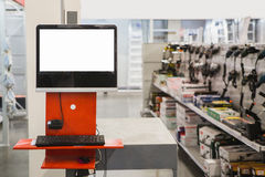 System for inventory. Of products in hardware store Royalty Free Stock Images