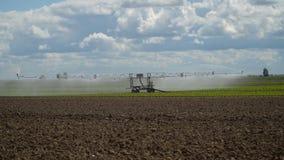 System irygacyjny na gruncie rolnym Obraz Stock