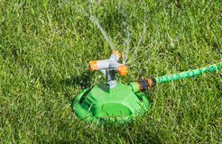 System lawn irrigation Royalty Free Stock Images