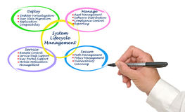 System Lifecycle Management Stock Photos