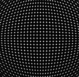System of  luminous points. On black backround Stock Images