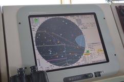 System nawigacji statek Fotografia Royalty Free