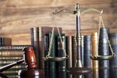 System Prawny Prawa i sprawiedliwości pojęcie Obrazy Royalty Free
