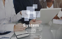 System Progress Production Structure Accessible Concept Royalty Free Stock Photo
