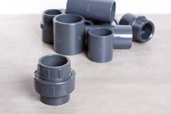 System PVC-U fittings Stock Photos