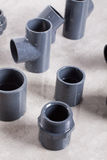 System PVC-U fittings Royalty Free Stock Image
