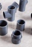 System PVC-U fittings Royalty Free Stock Image
