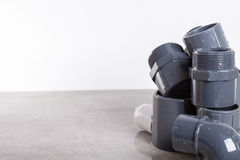 System PVC-U fittings Royalty Free Stock Images