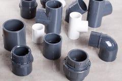 System PVC-U fittings Stock Image