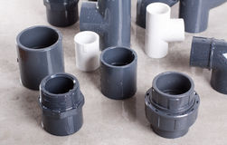 System PVC-U fittings Stock Photography