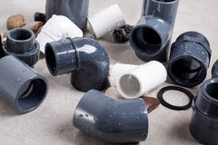 System PVC-U fittings Royalty Free Stock Photo