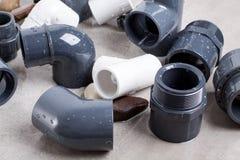 System PVC-U fittings Stock Photo