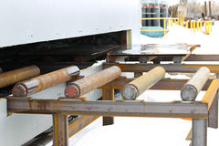 System of rollers Stock Image