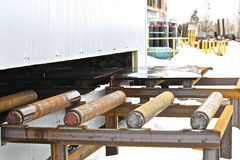 System of rollers Stock Images