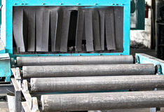 System of rollers Stock Photography