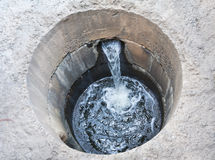 System of sewage Stock Photo