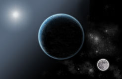 System solar universe Royalty Free Stock Image