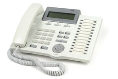 System Telephone Royalty Free Stock Photo