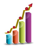 Systematisches Wachstum Lizenzfreie Stockfotografie