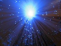 Systeme optique bleu Images libres de droits