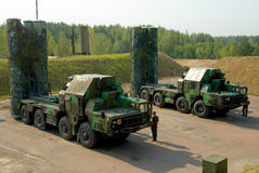 Systemen van de luchtdefensie s-300 Royalty-vrije Stock Foto's