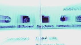 Systempreferenssymboler p? Apple MacOS p? iMac datorer arkivfilmer
