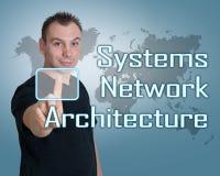 Systems Network Architecture Imágenes de archivo libres de regalías