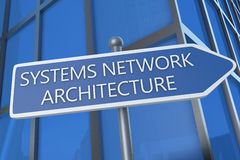Systems Network Architecture Photo stock